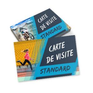 Cartes de visite standard (8.5x5.4cm)